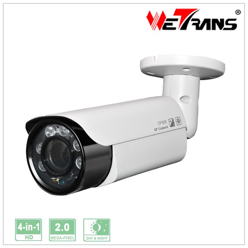 WETRANS TR-X20BR731L 1080P Bullet Proof CCTV Camera 6 LED Array Long Distance Night Vision Camera 4 in 1Support AHD/CVI/TVI/CVBS(China (Mainland))