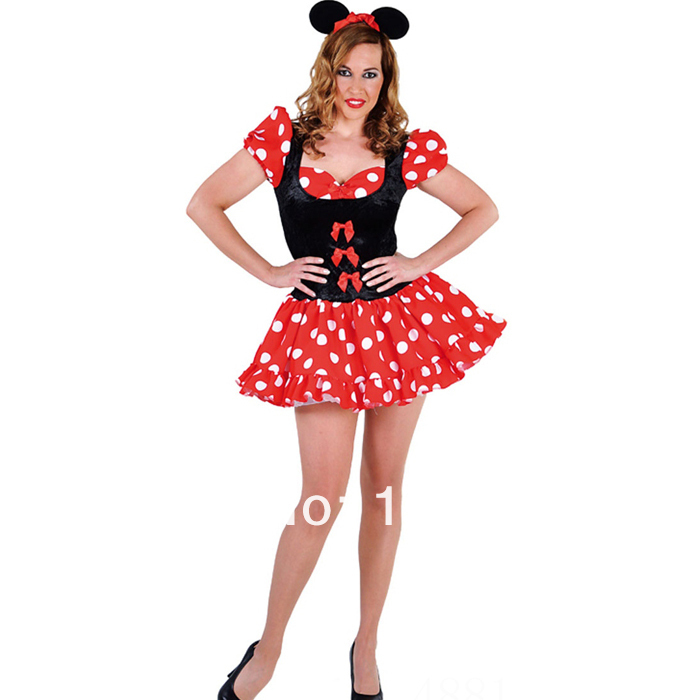 Minnie Mouse Costume Cheap Minnie Mouse Costume For Women