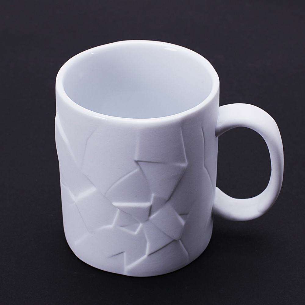 350ml creative cracked up shattered mug coffee tea cups