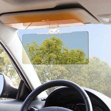 1pc Car Sun Visor Goggles For Driver Day And Night Anti-dazzle Mirror Anti-Glare Goggle Sun Visors Automobile Sun-shading Block(China (Mainland))