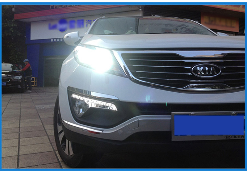Купить Супер Яркие Фары Автомобиля H7 СВЕТОДИОДНЫЕ H8/H11 HB3/9005 HB4/9006 70 Вт 7000lm Авто Передняя лампа Автомобилей Фары 6000 К Освещение Автомобиля