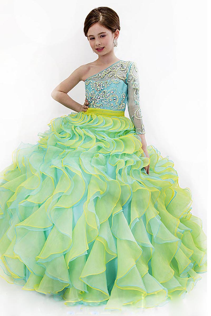 Popular Kids Ball Gowns Chiffon Long-Buy Cheap Kids Ball Gowns ...