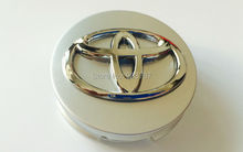 5styles 4pcs 57mm 62mm toyota wheel center caps hub cover car badges emblem For Yariz 07