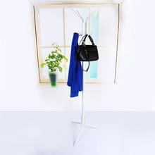8 Hook Rotating Hanger Coat Hat Bag Clothes Rack Umbrella Garment Holder Stand Metal Hanger Organiser Home Decor(China (Mainland))