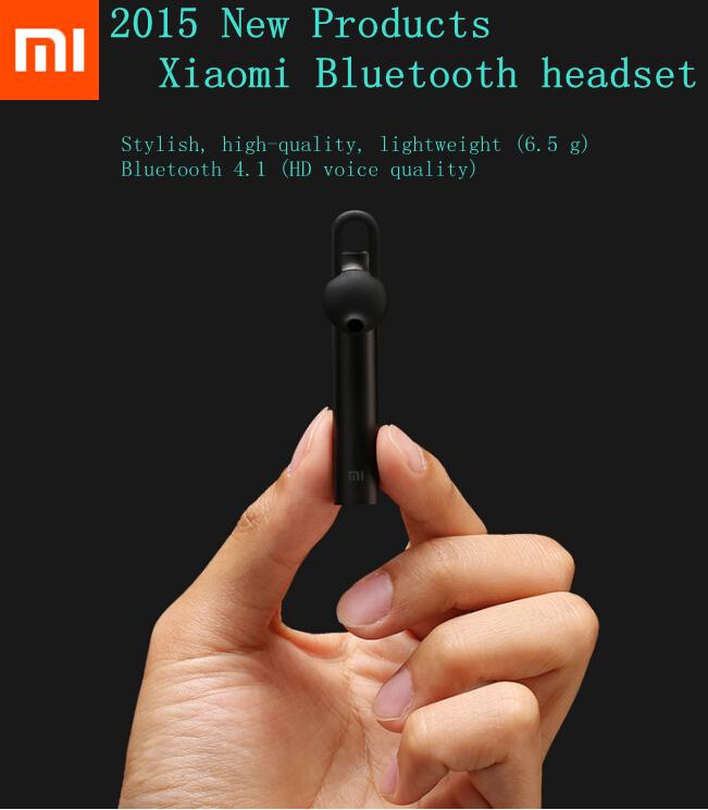 2016 new release 100% original xiaomi Bluetooth headset high quality bluetooth V4.1 headphones for iPhone xiaomi hongmi samsung