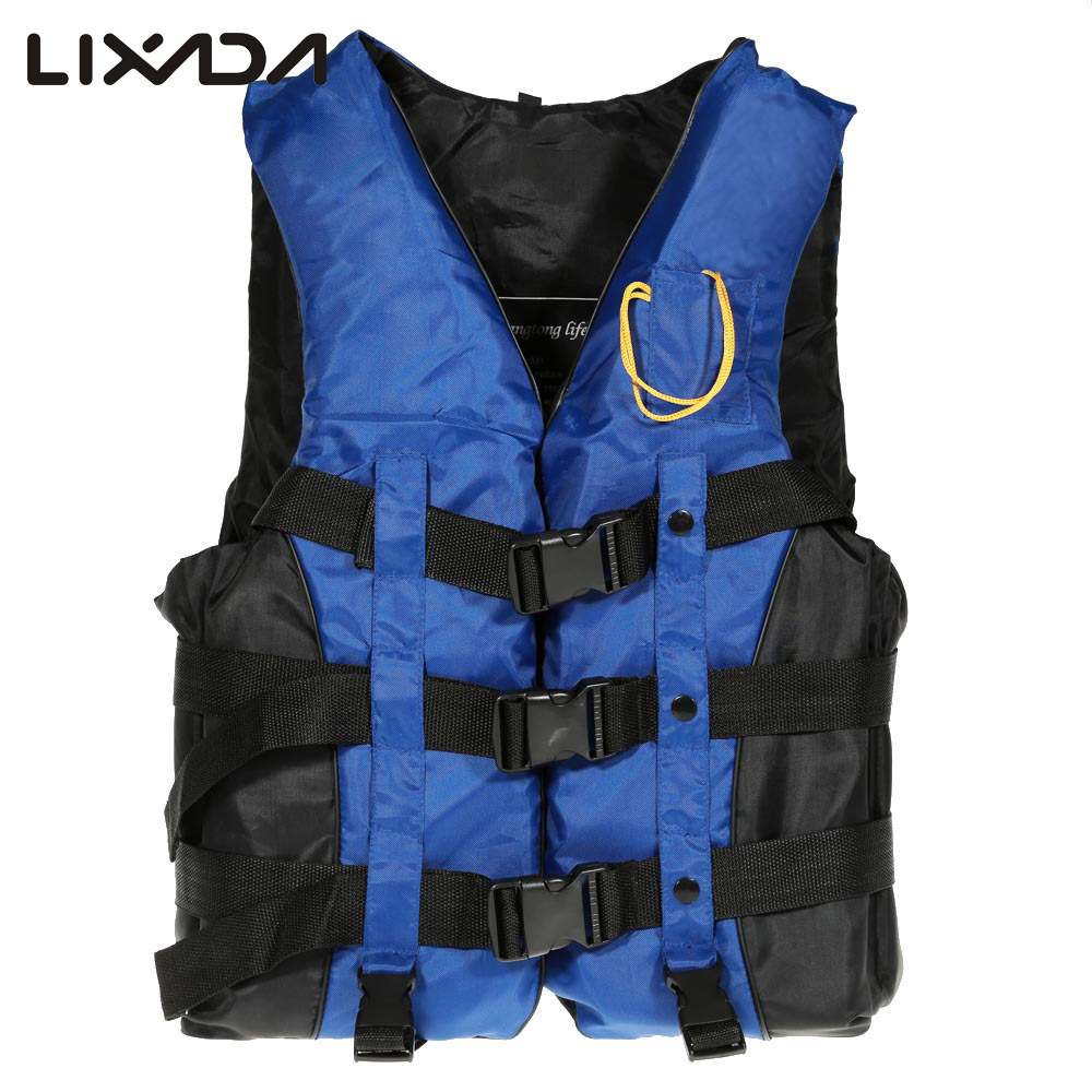 Professional Life Vest Life Jacket Adult Swimming Boating Drifting Safety Life Jacket Vest with Whistle L-2XL(China (Mainland))
