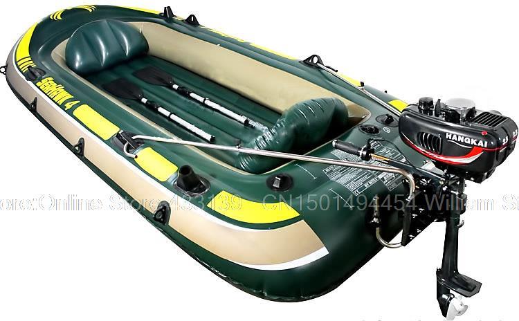 модель лодки и мотор