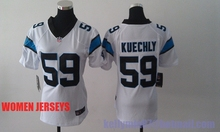 Panther Top quality stitched Cam Newton Luke Kuechly Greg Olsen WOMEN KIDS YOUTH(China (Mainland))