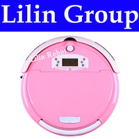 4 In 1 Multifunction Robot Vacuum Cleaner (Clean,Sterilize,Mop,Air Flavor),Virtual Wall,Schedule,LCD,Remote Control,Self Charge
