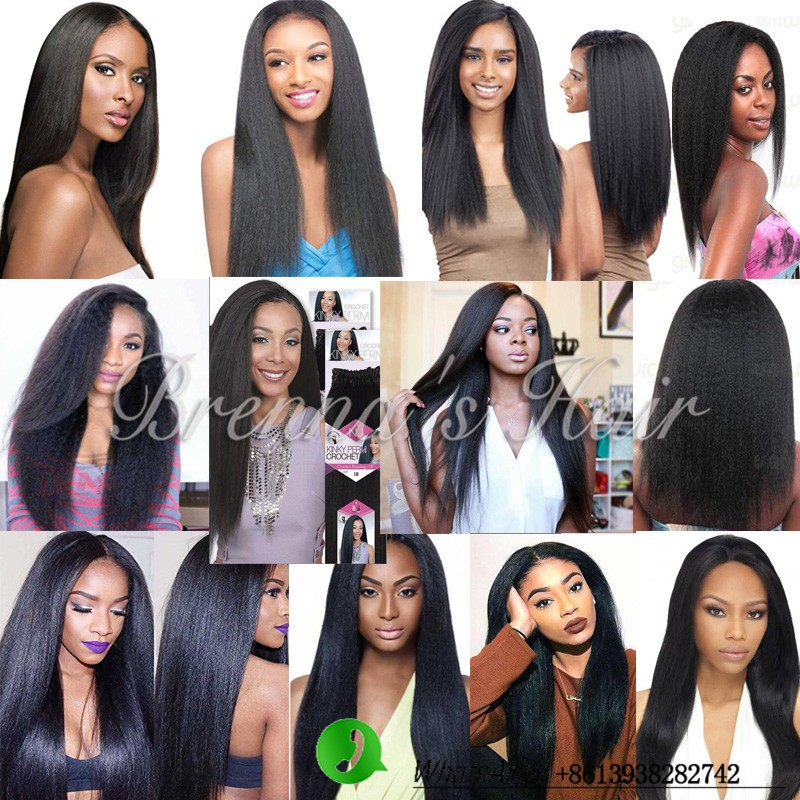 Cheap 18inch Human feeling hair crochet braids synthetic straight Synthetic Braiding hair Pre loop hair,pre braided crochet hair