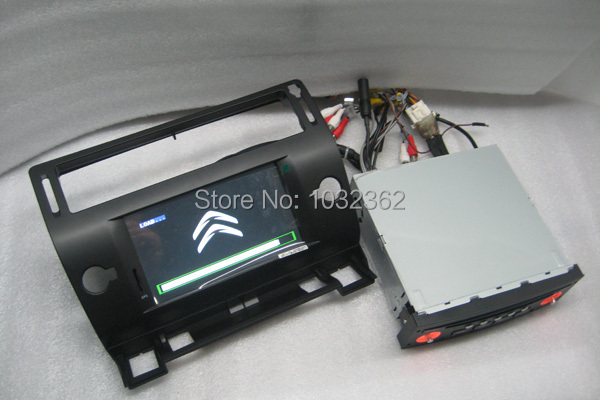 Free shipping 7inch car dvd player for Citroen C4 with Built-in GPS, bluetooth, RDS,IPOD,TV tuner,Radio,USB,dual zone , CAN BUS(China (Mainland))