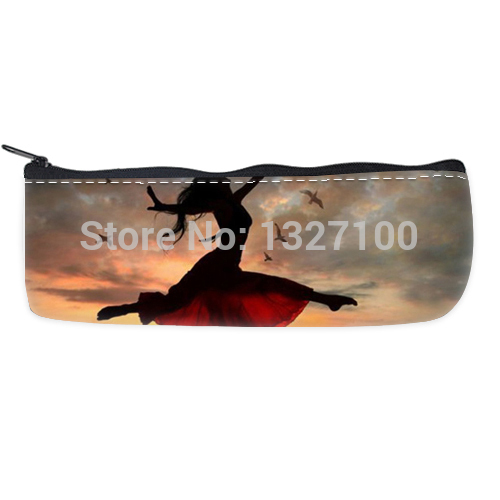 new arrival Flying dancer pencilcases Bag beautiful(China (Mainland))