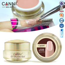 1PC 15ml CANNI Natural Nude Pastel Color UV Builder Gel Camouflage Acrylic Nail Art False Tips Extension 15 Colors - Shenzhen Angel Love adult Ltd store
