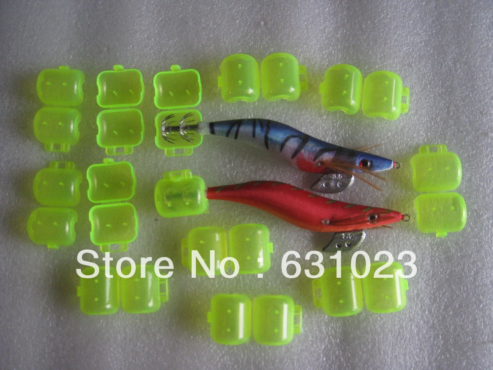100pcs fishing hook protector,fishing tackle ,fishing accessary, middle size ,for 3.5# 3.0# 2.5# squid jigs.(China (Mainland))