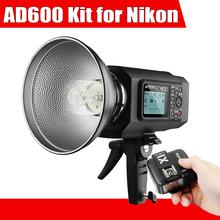 Buy Godox AD600 Outdoor Flash High Power 600Ws TTL HSS 2.4G X System + Godox X1N TTL Wireless Remote Flash Trigger Nikon for $885.00 in AliExpress store