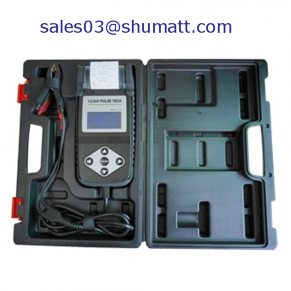 Universal car battery diagnostic with printer suit for all kind of battery testing your car battery 12V 24V(China (Mainland))