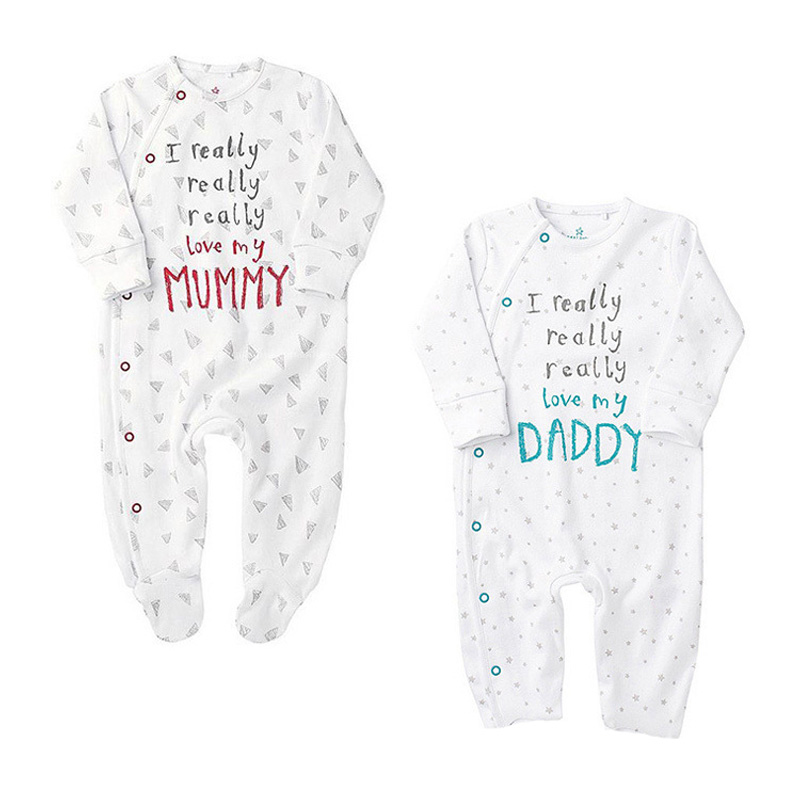 Baby Clothes Newborn Boy Gril Rompers Branded Long Sleeve Infant Product Jumpsuits Bebes Girl Unisex Body Costume - CHEAP SUNDAY store