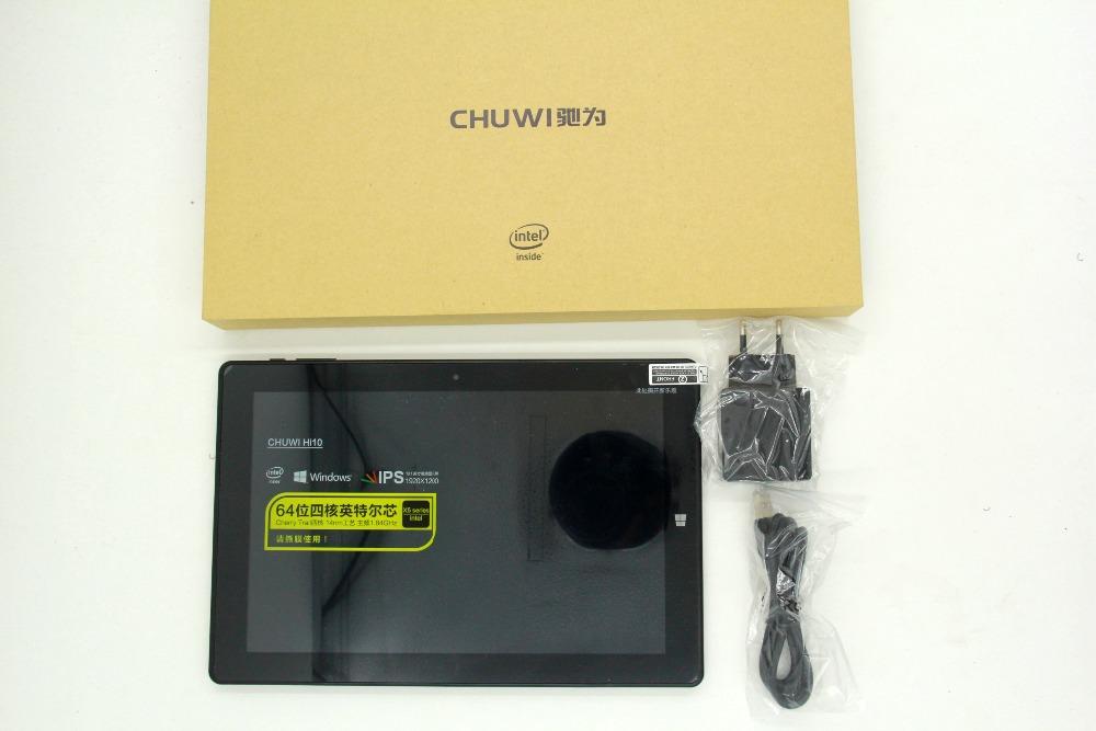 10.1 Inch 1920*1200 Chuwi HI10 Windows 10 Tablet PC Intel Cherry Trail-T3 Z8300 Quad Core 4GB RAM 64GB ROM HDMI Dual Camera