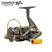 Buy Fishing pesca reel wheels fish spinning reel 10BB high G-Ratio 5.5:1 moulinet peche reels carp reel 10BB 1000-7000 series for $9.92 in AliExpress store