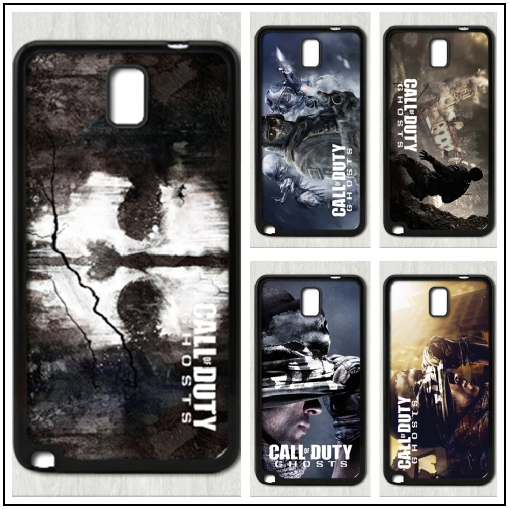 Call of Duty Ghost fashion case cover for samsung galaxy note 3 made of the best material ABS free shipping FF83800(China (Mainland))