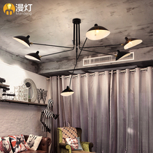 diffuse American retro restaurant lighting lamp simple living room bedroom ceiling lamps make threatening gestures(China (Mainland))