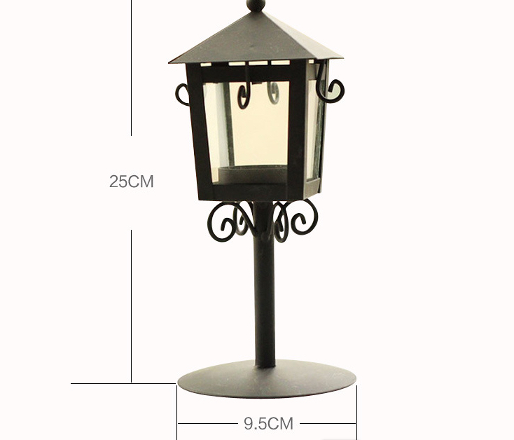 2016 Limited Candlestick European Classical Candelabra 100% Brand New Classic City Street Lamp Iron Candle Holder House Dec(China (Mainland))