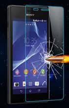 Amazing 2.5D 0.3mm Anti-Explosion Tempered Glass Screen Protector for Sony Xperia M2 M2 Aqua D2403 D2406 D2303 D2305 D2306