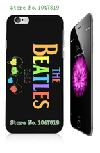 Mobile Phone Cases Retail 1pc the beatles Protective White Hard Case For Iphone 6 plus Free Shipping