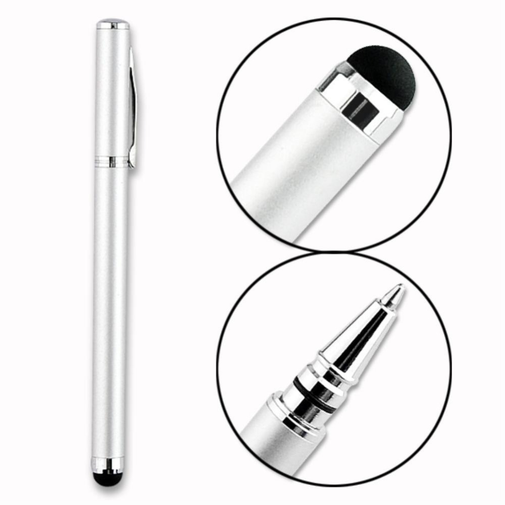 Touch Screen Stylus Ballpoint Pen For iPhone 4s 5 5c 5s 6 For iPod For iPad for samsung galaxy s4 for Nano EP0628(China (Mainland))