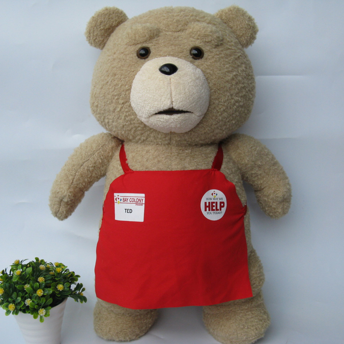 Toys For Ted : New ted movie the bear plush doll quot soft toys