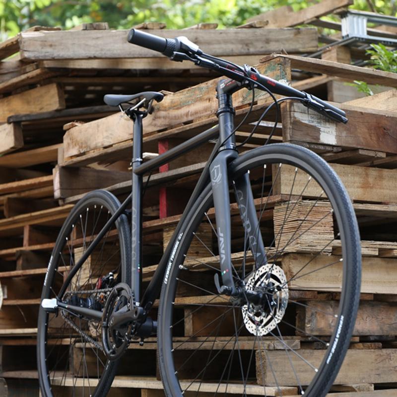 JAVA Corsa CR-MO Cyclocross Road Bike 700C Racing Bicycle With 3-Speed Hub For Center Lock Disc Brake(China (Mainland))