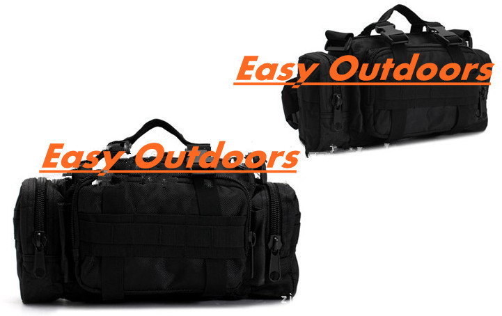 Retro Design 9 Colors Utility Tactical Waist Pack Pouch Military Camping Hiking Outdoor Sport Adjustable Nylon Waterproof Bag - Easy Outdoors store