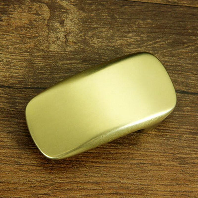 30mm Solid brass flat belt buckle DIY Leathercraft Metal Accessories 06(China (Mainland))