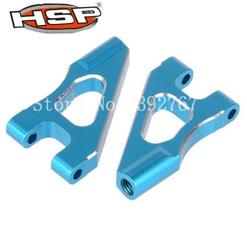 HSP Upgrade Parts 122018 02147 Aluminum Front Upper Suspension Arm 2P Alloy Blue for 1/10 RC Model Car CNC 94122 XSTR POWER(China (Mainland))
