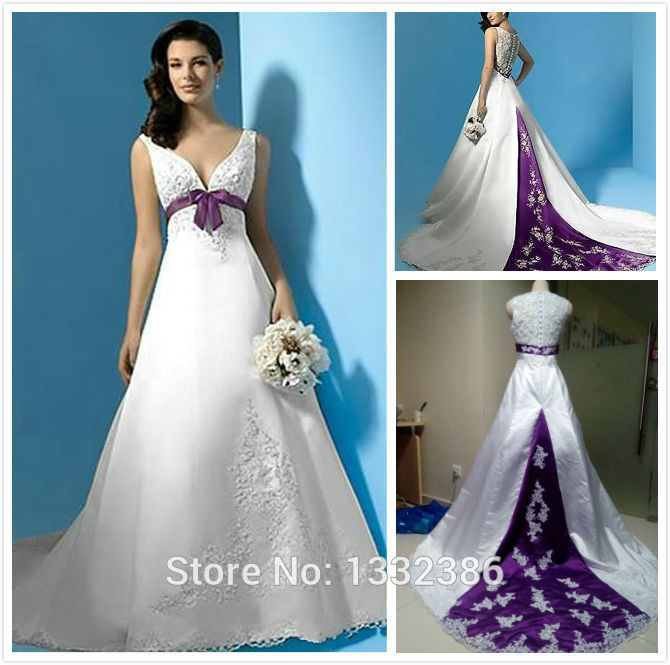 teal and purple wedding dresses | Gommap Blog