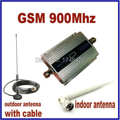 Free shipping,GSM Mobile phone Signal Repeater,900 Mhz Signal Booster,900MHz GSM Amplifier/Receivers, cover 200 square meter(China (Mainland))