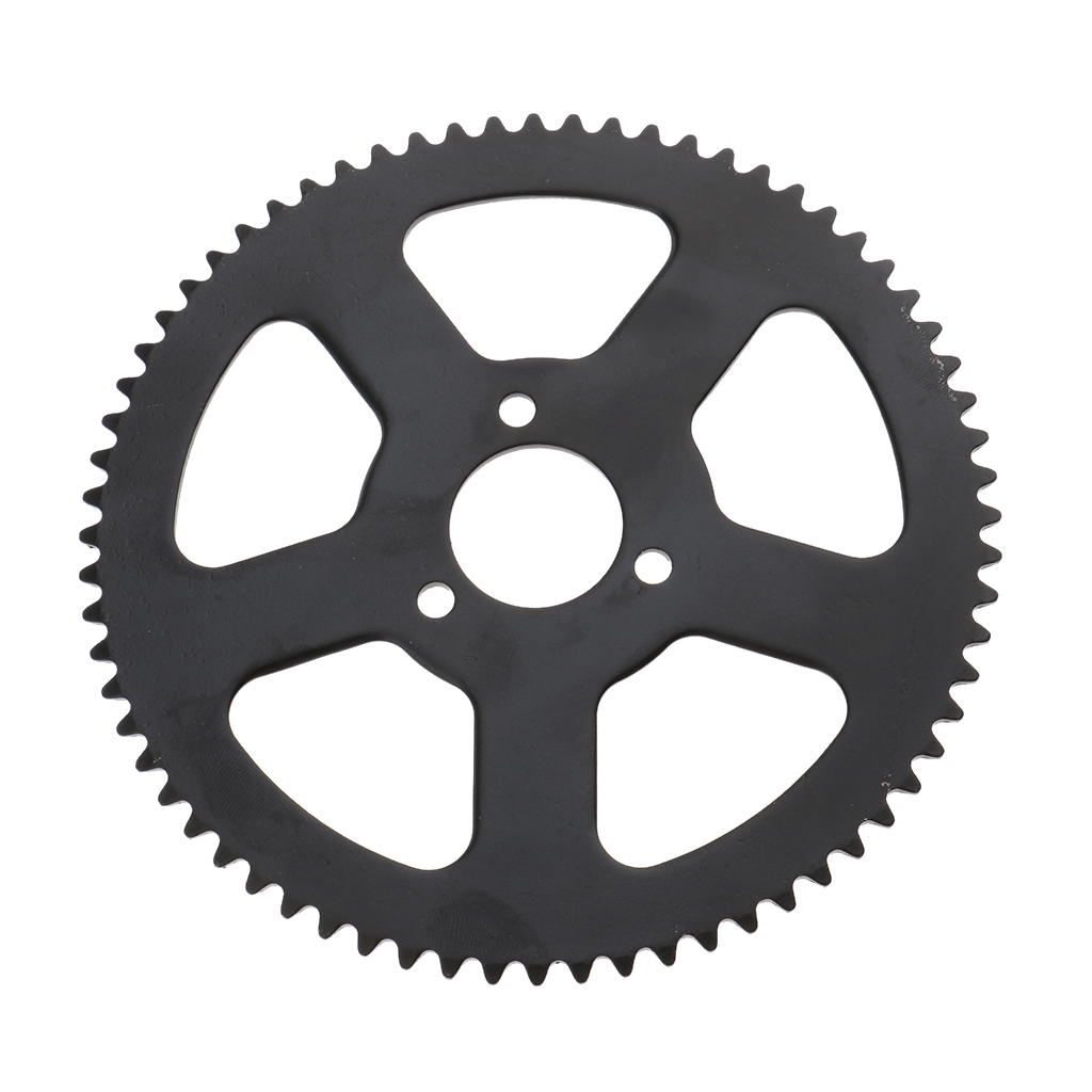 Rear Wheel Tire Sprocket Disc with 68 Links Chain Replacement for 49cc 2 Stroke Mini Pocket Bike