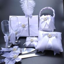 White Elegant Wedding Decorations Set