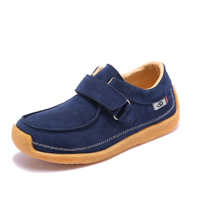 Hobibear boys leather shoes 2017 boys casual shoes school soft sole shoes spring autumn shoes AS3243