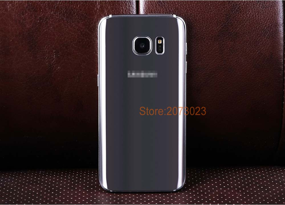 Case add Glass Film Free for Samsung Galaxy S 7 Phone Unlock Smartphone MTK6592 Octa Core 4G RAM 64GB 12MP mtk6582 Original Logo