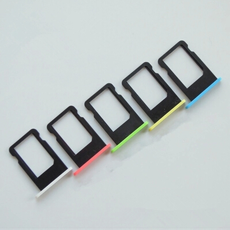 1PCS-100-best-quality-Colorful-Sim-Card-Tray-Slot-Holder-Replacement-for-Apple-iPhone-5C-Sim (4)