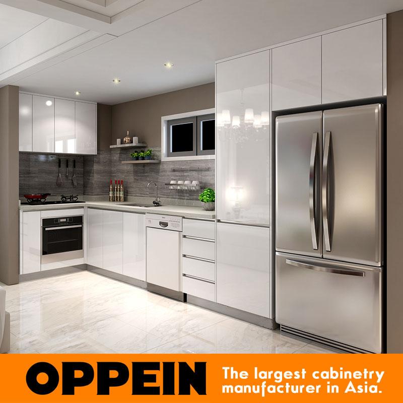 2016 Australia Project Melamine Finish Wooden Kitchen Cabinet(China (Mainland))