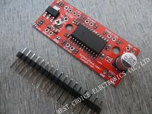 1Set EasyDriver Shield stepping  Driver V44 A3967 For Arduino Brand New(China (Mainland))