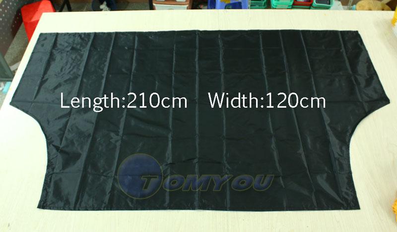 210 120 cm Car Windshield Sun Shade Micro Fiber Winter Car Snow Shield Cover Auto Front