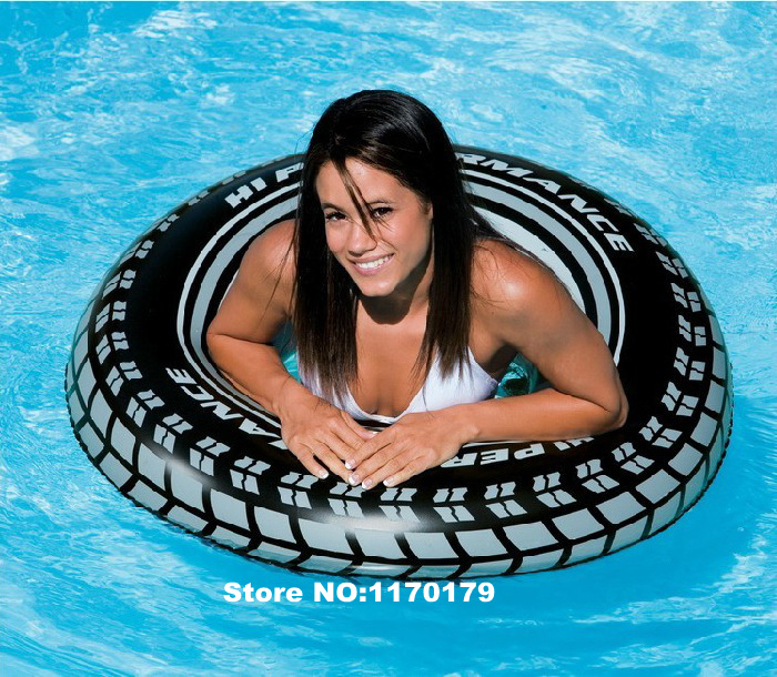 INTEX swimming ring/Floating ring/life buoy,size 91 cm suit for above 9 years old and adult(China (Mainland))