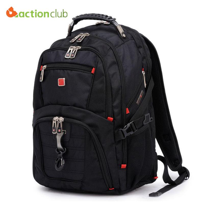 2015 New Swiss Men Laptop Backpack Mochila Masculina 15 Inch Man's Backpacks Men's Luggage & Travel bags Sports Bag Wholesale(China (Mainland))