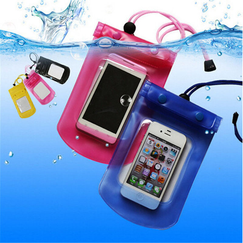 Mobile Phone Waterproof Bag Case Cover Underwater for iPhone4S 5S 6S Water proof Mobile Phone Accessories & Parts Free Shipping(China (Mainland))