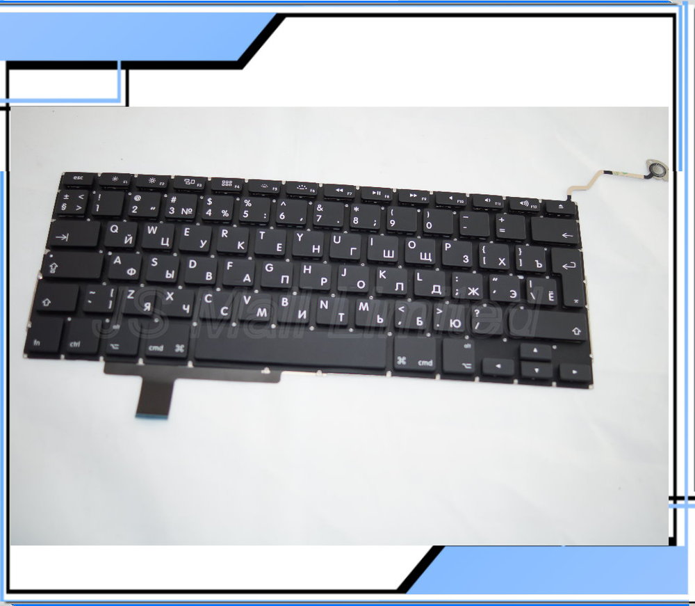 NEW For Macbook pro 17 A1297 Russian RU  Keyboard 2009 2010 2011 2012 Year<br><br>Aliexpress