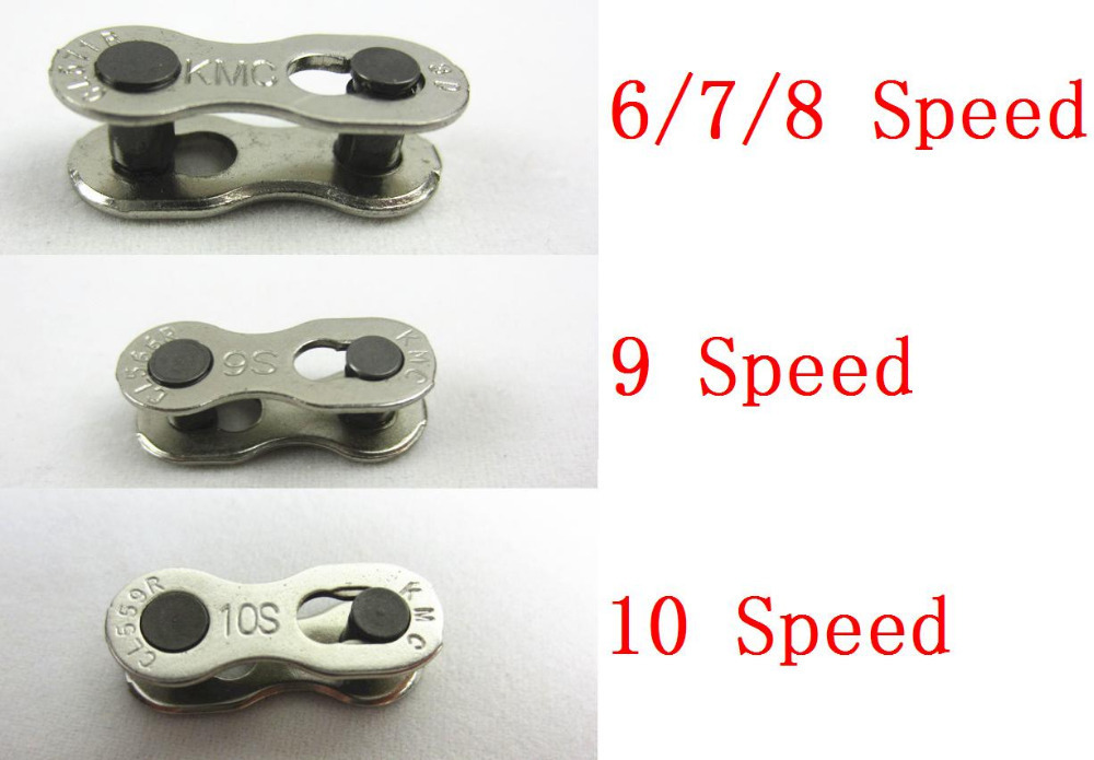 1 Pair 2pcs Bike Chains mountain road bike bicycle chain Connector for 6/7/8/9/10 Speed Quick Master Link Joint Chain BC0101(China (Mainland))