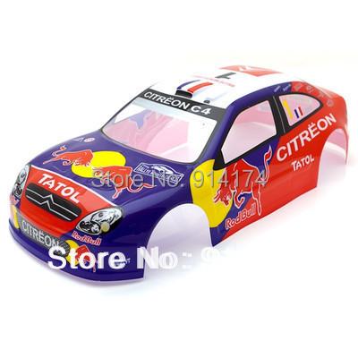 2pcs/lot 1/10 RC Drift car body 1/10 car body shell PVC patiend Body Shell 190mm*430MM No:S009(China (Mainland))